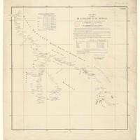 Carte du cours de la Falémé et du Sénégal / dressée d'après les documents les plus récents par M. Trébuchet, lieutenant de vaisseau, par ordre de M. Faidherbe, St Louis, 7 mars 1855
